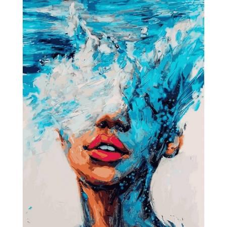 Картина по номерам Стихия воды vp1180, Babylon