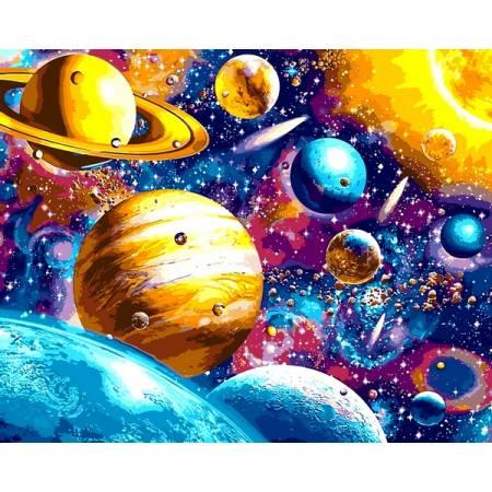 Картина по номерам Парад планет VP1196, Babylon