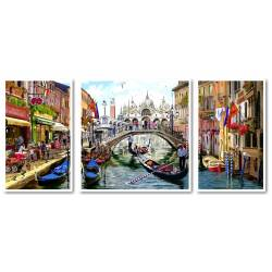 Триптих Каникулы в Венеции