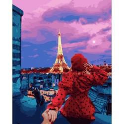 Следуй за мной крыши Парижа