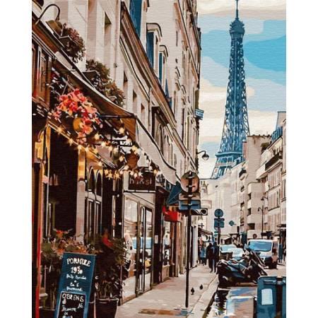 Картина по номерам Париж из-за угла GX30083, Rainbow Art
