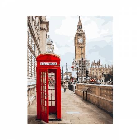 Символы Лондона, цветной холст