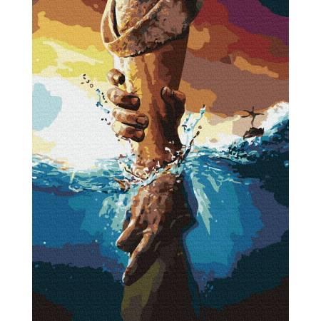 Картина по номерам Рука помощи ATG0022, Rainbow Art