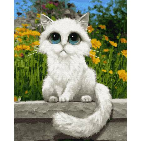 Картина по номерам Кошачьи глазки gx22771, Rainbow Art