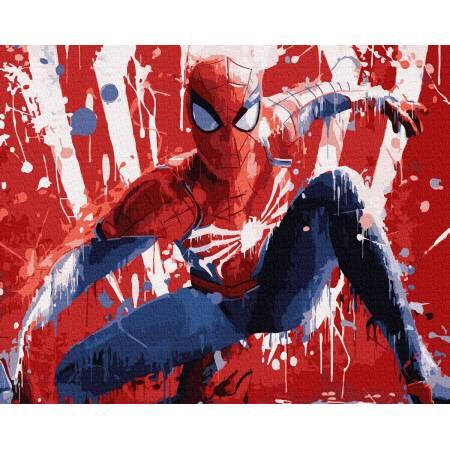 Картина по номерам Человек-паук GX36119, Rainbow Art