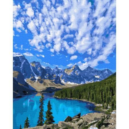 Картина по номерам Нетронутая природа GX37822, Rainbow Art