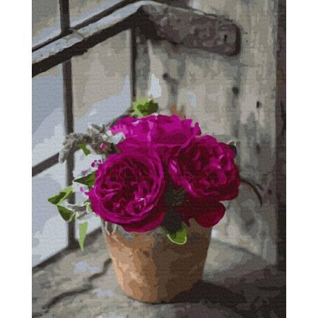 Картина по номерам Пышные розы GX37825, Rainbow Art