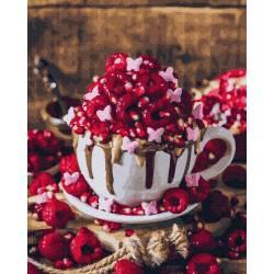 Малиновый десерт 2