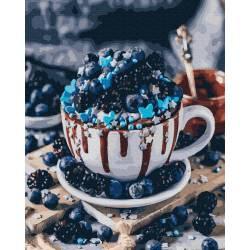 Черничный десерт
