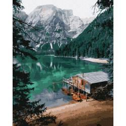 Домик на озере