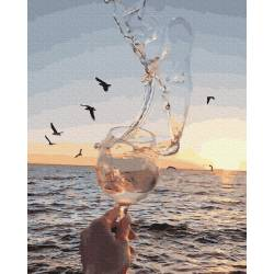 Волна в бокале