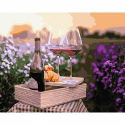 Вино в цветах