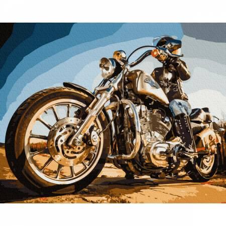 Картина по номерам Байкер GX32492, Rainbow Art