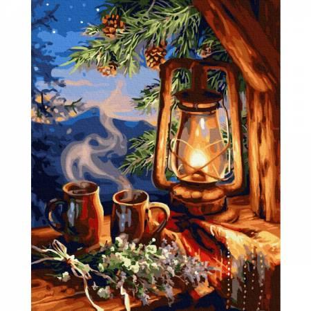 Картина по номерам Красиво сказочный фонарь GX32629, Rainbow Art