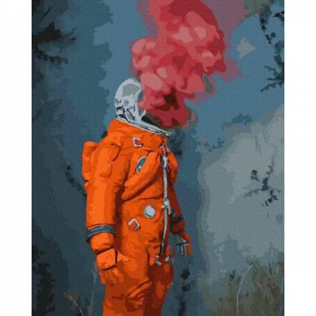 Картина по номерам Космический герой GX35330, Rainbow Art