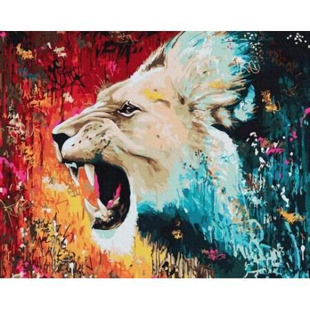 Картина по номерам Оскал GX30216, Rainbow Art