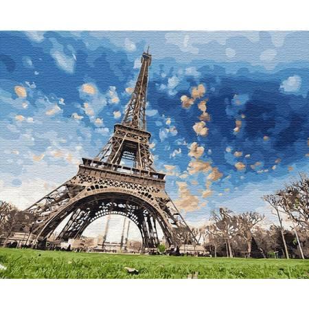 Картина по номерам Небо Парижа GX29440, Rainbow Art