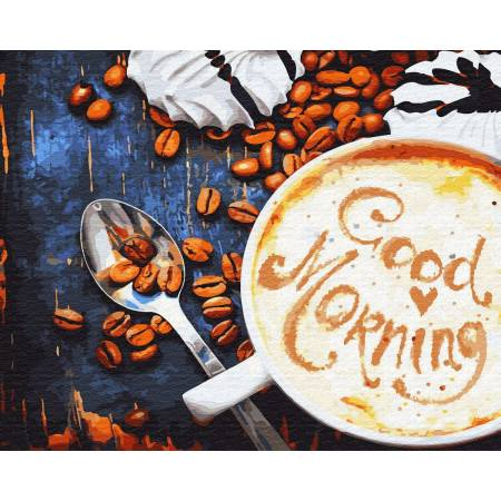 Картина по номерам Хорошего доброго утра GX31916, Rainbow Art