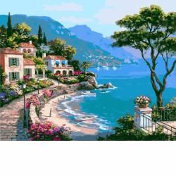 пейзаж морского побережья