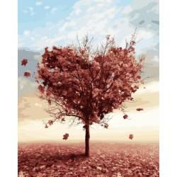 Осеннее дерево любви