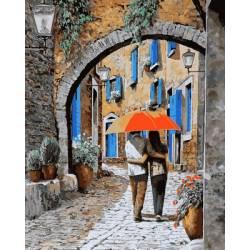 Апельсиновый зонтик