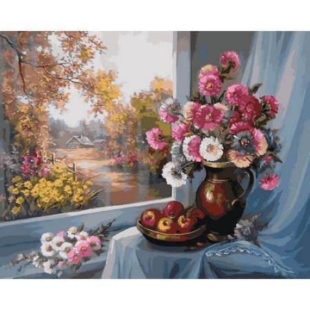 Картина по номерам «Дары осени Худ. Анка Булгару », модель Q2119