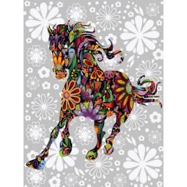 Цветочная лошадь