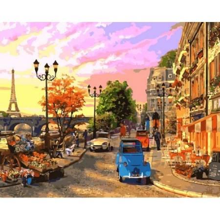 Картина по номерам Улочки Парижа VP644, Babylon
