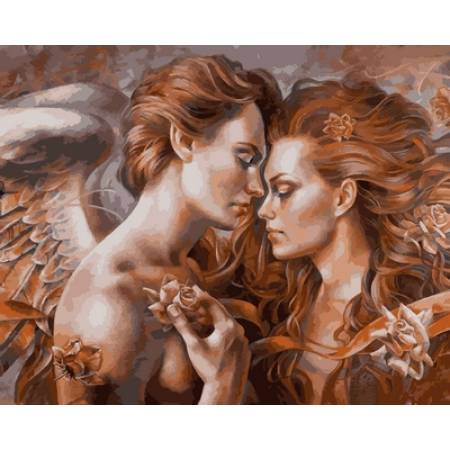 Картина по номерам «Прикосновение ангела Худ. Артур Брагинский », модель VP734