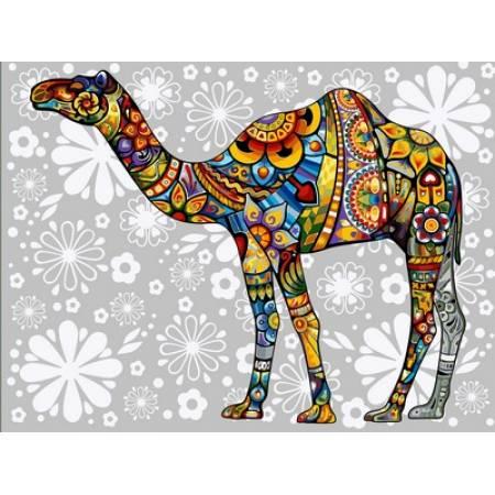 Цветочный верблюд
