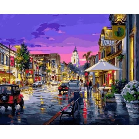 Картина по номерам «После дождя Худ. Цао Йен», модель VP728