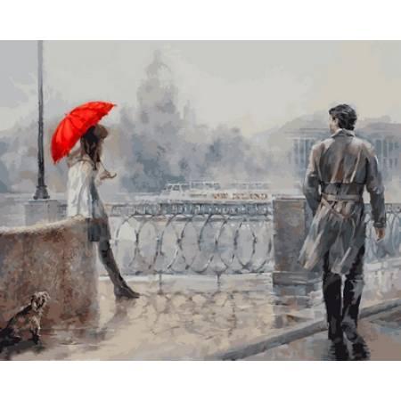 Незнакомка под алым зонтом