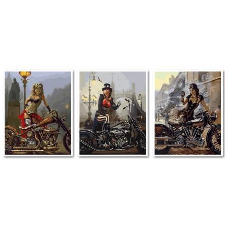 Картина по номерам Путешественницы во времени 1 VPT020, Babylon