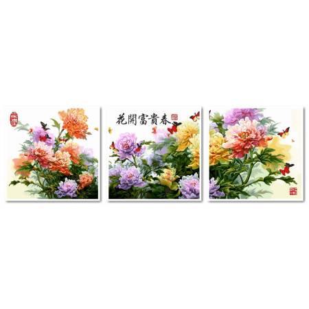 Японские хризантемы