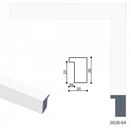 Картина по номерам Рамы для картин PRORAM 2028-64, PRORAM