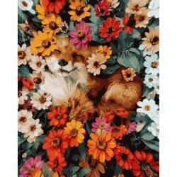 Лиса в цветах