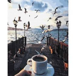 Утро с чайками