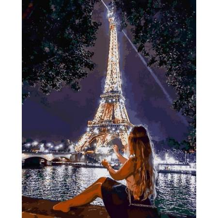Романтика вечернего Парижа