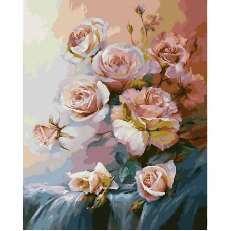 Картина по номерам Розовое утро VP325, Babylon