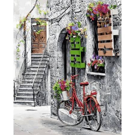 Картина по номерам Цветочная улочка MR-Q2242, Babylon