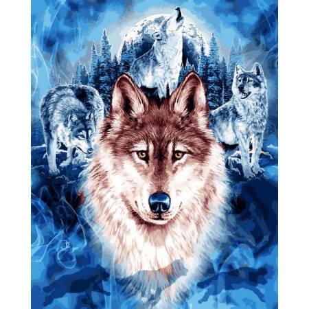 Картина по номерам Волки MR-Q2246, Babylon