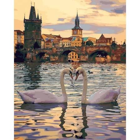 Картина по номерам Романтическая Прага MR-Q2248, Babylon