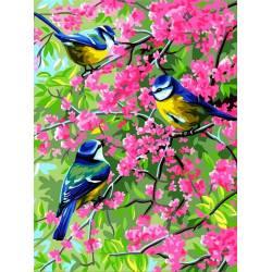Весенние синички