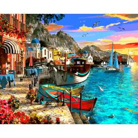 Город на берегу моря