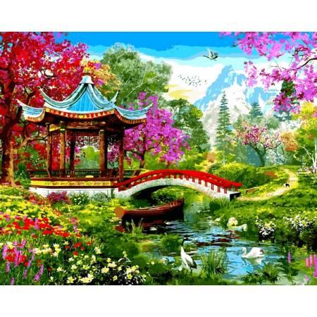 Картина по номерам Японский стиль VP1282, Babylon