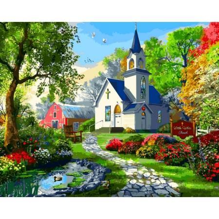 Картина по номерам Маленькая Белая Церковь VP1287, Babylon