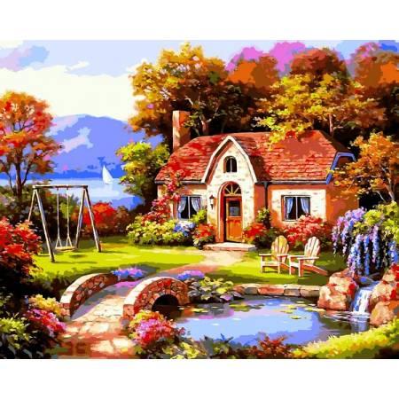 Картина по номерам Сказочный домик VP1299, Babylon