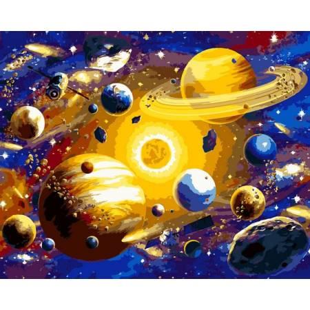 Картина по номерам Солнечная система VP1312, Babylon