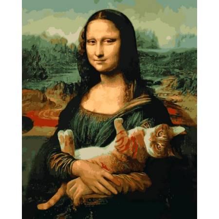 Мона Лиза и кот