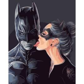 Бэтмен и женщина кошка